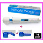 Masajeador Vibrador Hitachi Magic Wand Gratis 2 Accesorios !