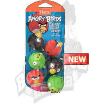 Juguete Para Gatos De Angry Birds Pelotas Con Cascabel Rgl