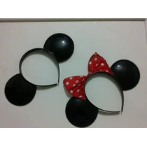 Orejas Tipo Mickey Mouse Y Minnie Daa