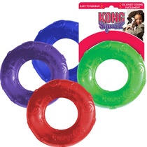 Kong Squeezz Ring Large Juguete Con Sonido