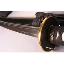Katana Musashi Gold Ring 100% Funcional Full Tang Espadas