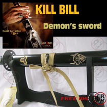 Katana Bill Demonio Kill Bill Acero 440 Con Base De Espada