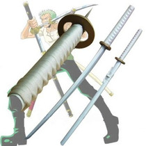 Katana One Piece Roronoa Zoro Wado Ichimonji Acero 440