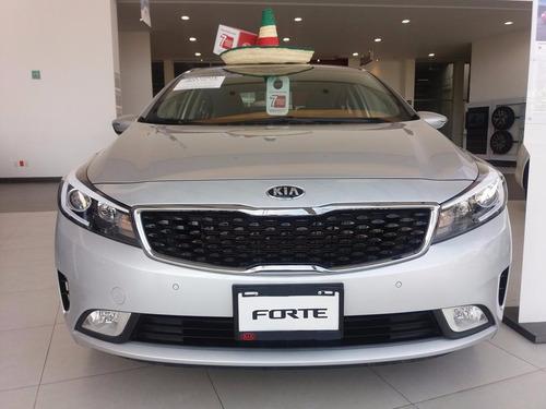 Kia Forte Ex Automatico 2017 Seguro Gratis Y 10% De Enganch