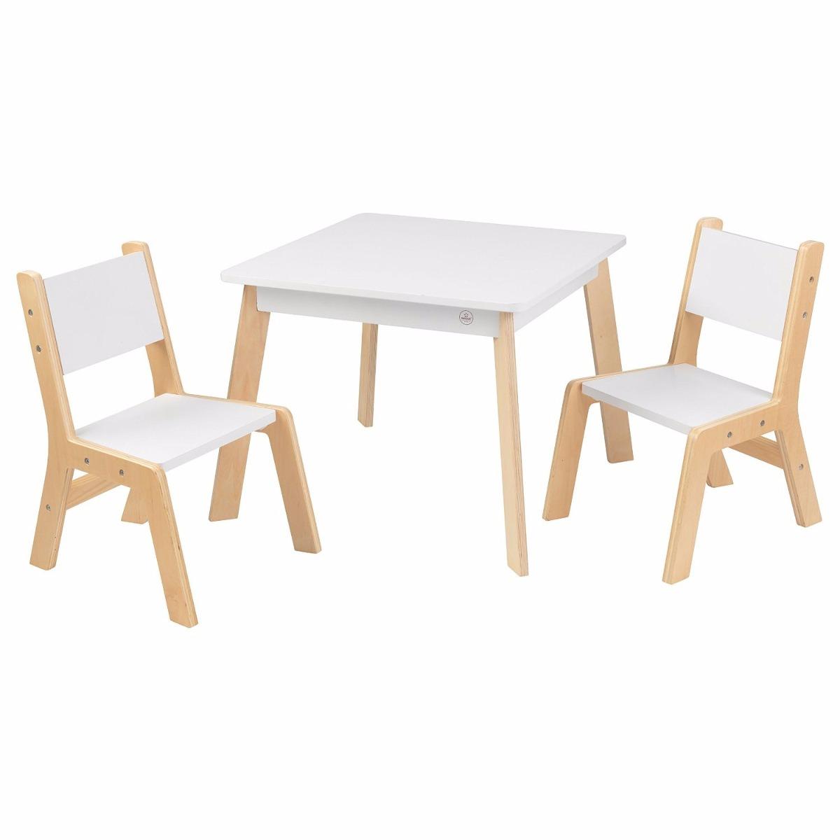 Kidkraft mesita con sillas mesa madera tarea arte infantil - Mesita con sillas infantiles ...