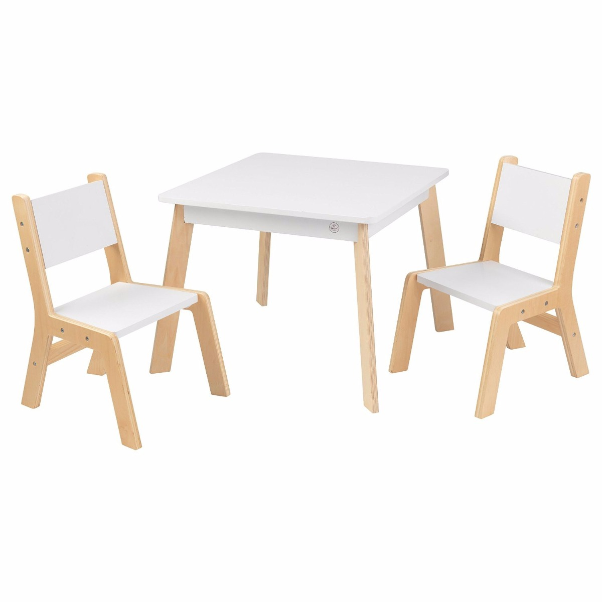 Kidkraft mesita con sillas mesa madera tarea arte infantil - Mesa madera infantil ...