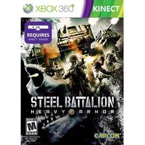 Steel Battalion Heavy Armor Xbox 360 Nuevo Sellado Kinect