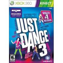 Juego Just Dance 3 Xbox 360 Usado Blakhelmet