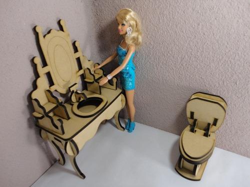 Hacer muebles para barbie imagui for Muebles para barbie