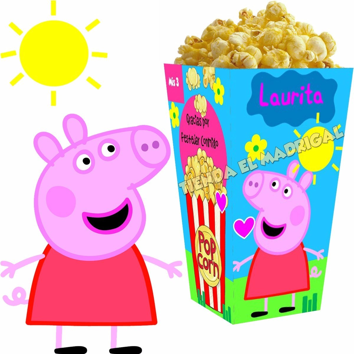Decoracion Cumplea?os Peppa Pig ~ Kit Imprimible Peppa Pig Decoraciones Para Fiesta Cumplea?os  $ 99