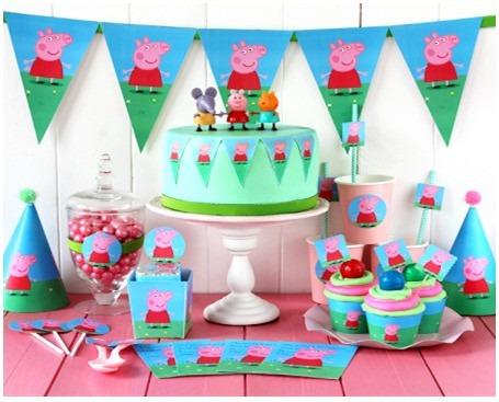 Kit Imprimible Peppa Pig Y George Tarjetas Candy Bar - $ 50.00 en