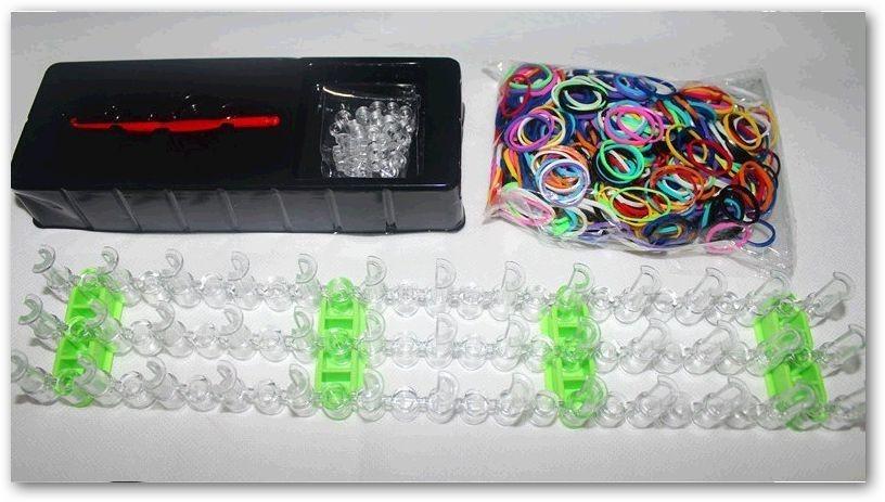 Kit loom bands colorful telar gancho 600 ligas manual 49 99 en