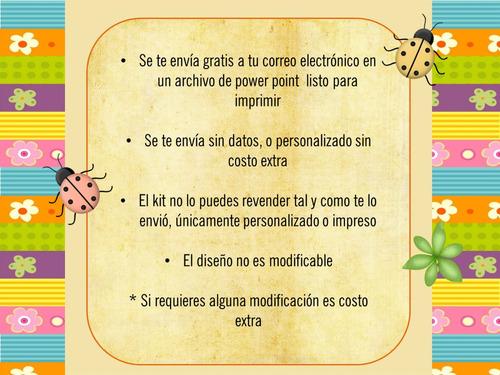 Kit Imprimible Bautizo Consagracion Presentacion Ni O Mdn