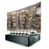 Paquete De Vigilancia Kit Samsung Techwin Nvr Poe 16 C Msi3