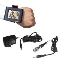 Monitor-probador De Vídeo Lcd 2.5 Para Pruebas De Cctv