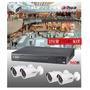 Dahua Kit Dvr 4 Canales Full 960h/ Hdmi/4 Camaras Exterior