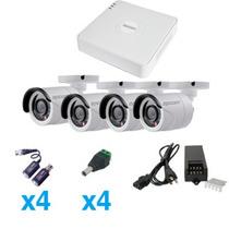 Epcom Kit Sistema Turbohd 720p De 4 Canales Compatible P2p