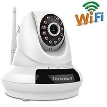 Tenswallâ® Ip Inalámbrica Cámara 720p Hd Nube Wifi P2p Plug
