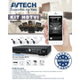 Avtech Kitdg1004pak - Paquete De 4 Canales Tribrido Fenix/hd