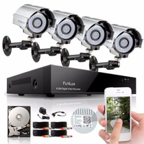 Security Camera System 8ch Funlux® 8 Indoor Outdoor Cctv