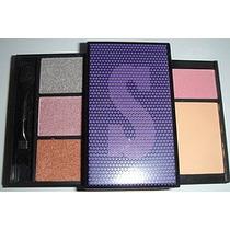 Maquillaje Kit Suki Labial+sombras+polvo/iluminador+brocha