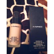 Maquillaje Liquido Mac Mineralize Satinfinish Tono 3