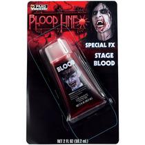 2 Onzas Líquidas Sangre Falsa Kit De Maquillaje Artístico