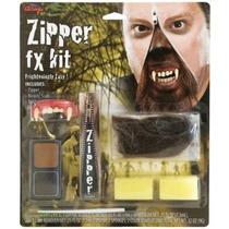 Hombre Lobo Traje - Pintura De Halloween Fx Face Kit Vampire