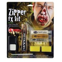 Zombie Costume - Pintura De Halloween Fx Face Kit Vampire