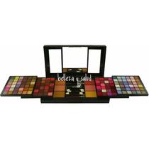 Set De Maquillaje Sombras Labial Rubor Polvo Compacto Comple