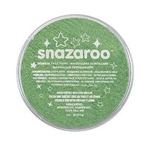Snazaroo Sparkle Face Paint 18ml Sparkle Pale Verde
