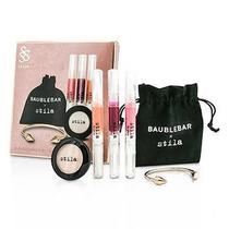 Set/kit Stila Sombra/iluminador Gloss/brillo Labial Pulsera