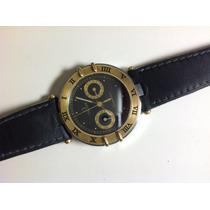 Omega Reloj Con Carátula De Oro Y Extensible Original