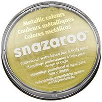 Oro Snazaroo Cara Pintura Metalizada