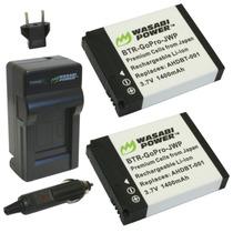 2 Baterias Cargador Camara Gopro Hero Hero 2 Ahdbt-001 Mn4