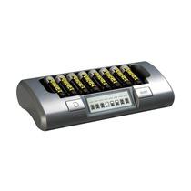 Cargador Maha Powerex Mh-c800s Para 8 Pilas Aa O Aaa Mn4