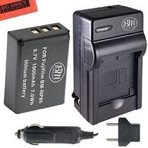 Bm Premium Np-85 Batería Y Kit Cargador Para Fujifilm Finepi