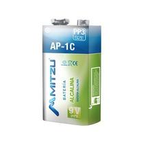 Bateria Alcalina 9v Ap-1c Cuadrada Tipo Pp3 Ni-mh Mitzu