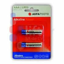 50 Pilas Agfa Alcalina Aaa C/2 1.5v