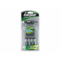 Energizer Kit Cargador Casa-auto Y 4 Pilas Aa (mercado Pago)