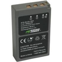 Batería De Alimentación Wasabi Para Olympus Bls-5, Bls-50, P