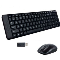 Combo Mouse Y Teclado Logitech Mk220 Nuevo Barato Oferta Lqe