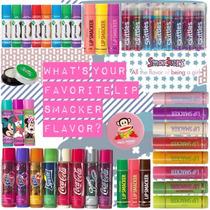.·:*¨¨*:·. Lip Smackers &lotta Super Lote Pack 35 Lip Balms