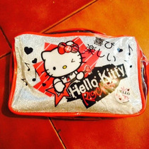 Cosmetiquera Brillos Hello Kitty