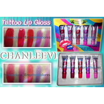 Tinta Para Labios Indeleble Gloss Efecto Tattoo