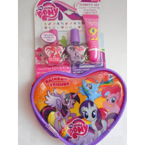 Set Cosmetico Uñas, Brillos, Bolsa My Little Pony!