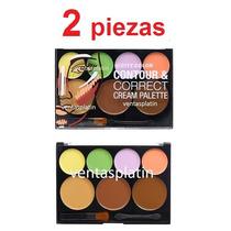 2 Contour & Correct Cream Palette City Color Contorneadores