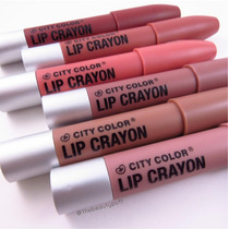 6 Lip Crayon City Color