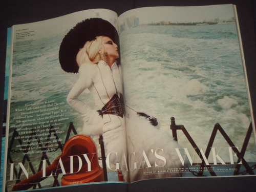 Lady Gaga Revista Vanity Fair