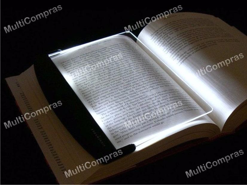 Lampara de lectura panel luz led placa libro cu a noche - Lamparas para leer libros ...